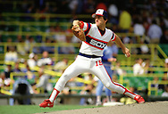 CHICAGO - 1986:  Floyd Bannister of the Chicago White Sox pitches during an MLB game at Comiskey Park in Chicago, Illinois. (Photo by Ron Vesely) Subject:   Floyd Bannister