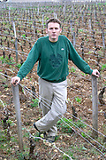 Arnaud Chopin, co-owner, winemaker domaine chopin & f nuits-st-georges cote de nuits burgundy france