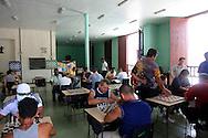 Chess club in Manzanillo, Granma, Cuba.