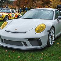 Porsche 991.2 GT3 Clubsport at Rennsport Collective at Stowe House, Buckinghamshire, UK, on 1 November 2020