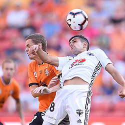 28th October 2018 - A-League RD2: Brisbane Roar v Wellington Phoenix