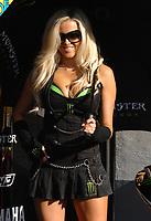 20091003: ESTORIL, PORTUGAL - Moto GP 2009 - Portugal Grand Prix: Qualifying. In picture: Pit Girl - MotoGP. PHOTO: Alvaro Isidoro/CITYFILES