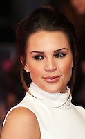 Danielle Lloyd, How To Be Single - European film premiere, Leicester Square, London UK, 9 February 2016, Photo by Richard Goldschmidt