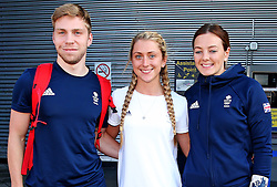 Philip Hindes, Laura Trott, Katy Marchant