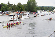 Henley Royal Regatta, Henley on Thames, Oxfordshire, 28 June - 2 July 2017.  Saturday  12:28:16   01/07/2017  [Mandatory Credit/Intersport Images]<br /> <br /> Rowing, Henley Reach, Henley Royal Regatta.<br /> <br /> The Temple Challenge Cup<br />   Oxford Brookes University 'A' v University of California, Berkeley, U.S.A.