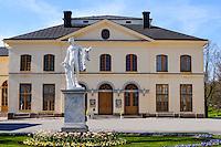 Sweden, Ekerö. The Drottningholm Palace (Drottningholms slott). Drottningholms Slottsteater