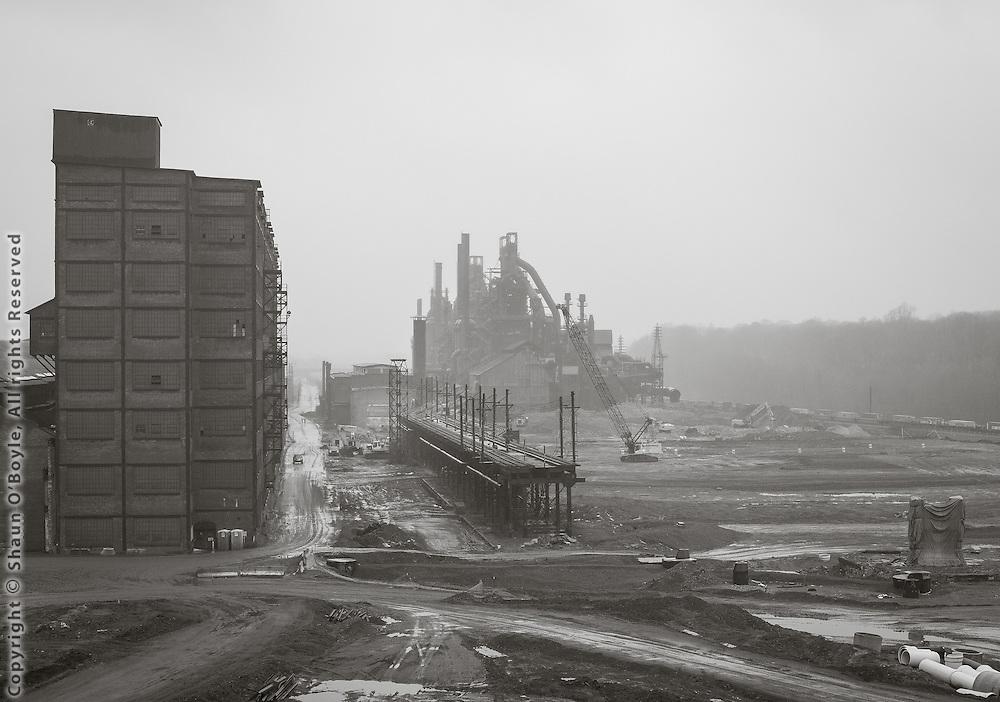 The dismantling of Bethlehem Steel