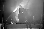 Fire at Johnson Mooney and O'Brien Mills, Dublin..03.10.1961