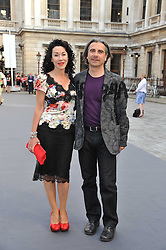 COLIN & HELEN DAVID at the Royal Academy of Arts Summer Exhibition Preview Party at Burlington House, Piccadilly, London on 2nd June 2011.
