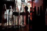 Empty bottles, full heart