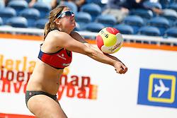 20150830 NED: NK Beachvolleybal 2015, Scheveningen<br />Elke Schuil - Wijnhoven