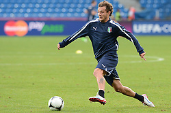 12.06.2012, Staedtisches Stadion, Posen, POL, UEFA EURO 2012, Italien, Training, im Bild  ALESSANDRO DIAMANTI during the during EURO 2012 Trainingssession of Italy national team, at the SMunicipal Stadium in Poznan, Poland on 2012/06/13