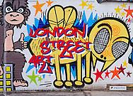 London Street Art, Book Cover