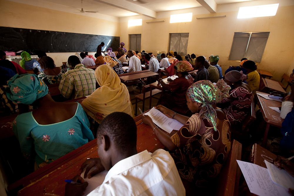 Gao Nursing School in Mali.