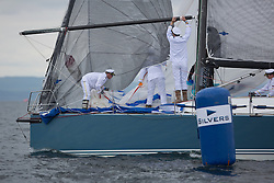 Day two of the Silvers Marine Scottish Series 2016, the largest sailing event in Scotland organised by the  Clyde Cruising Club<br /> Racing on Loch Fyne from 27th-30th May 2016<br /> GBR7737R, Aurora, Rod Stuart / A Ram, CCC, Corby 37<br /> <br /> Credit : Marc Turner / CCC<br /> For further information contact<br /> Iain Hurrel<br /> Mobile : 07766 116451<br /> Email : info@marine.blast.com<br /> <br /> For a full list of Silvers Marine Scottish Series sponsors visit http://www.clyde.org/scottish-series/sponsors/