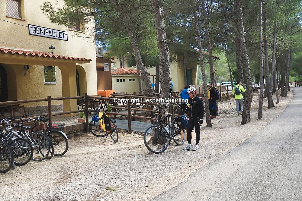 Cycling on the Via verde Tortosa