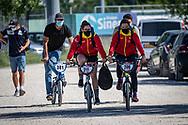 2021 UCI BMXSX World Cup<br /> Round 2 at Verona (Italy)<br /> ^we#211 DOMINGUEZ BERNAL, Adriana (ESP, WE) Pro Start, Rift<br /> ^we#208 ARTIGAS MATEU, Griselda (ESP, WE) DN1 GT Sarrians