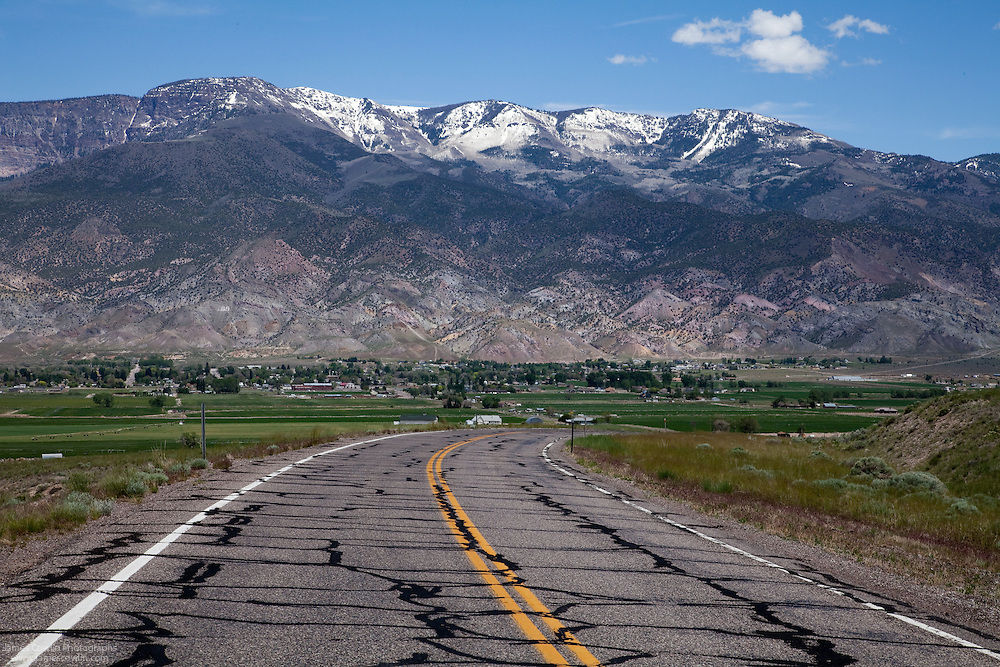Old US Route 89 in the Sevier Valley of southern Utah