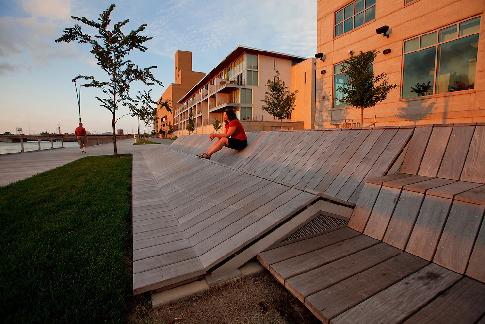 Green Bay CityDeck in Green Bay, Wisconsin in 2011.  Photos by Mike Roemer