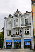 Facade of a building in Plovdiv, Bulgaria