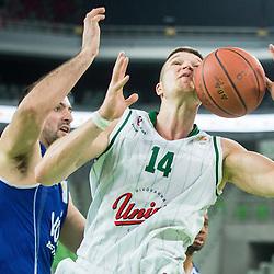 20150215: SLO, Basketball - ABA League 2014/15, KK Union Olimpija Ljubljana vs KK Buducnost Voli