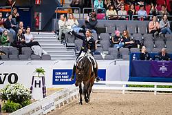 Kittel Patrick, SWE, Delaunay OLD<br /> LONGINES FEI World Cup™ Finals Gothenburg 2019<br /> © Dirk Caremans<br /> 05/04/2019
