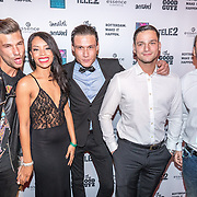 NLD/Rotterdam/20161102 - MTV Music Week Official Opening Party 2016, cast Ex on the Beach, Nederlandse cast