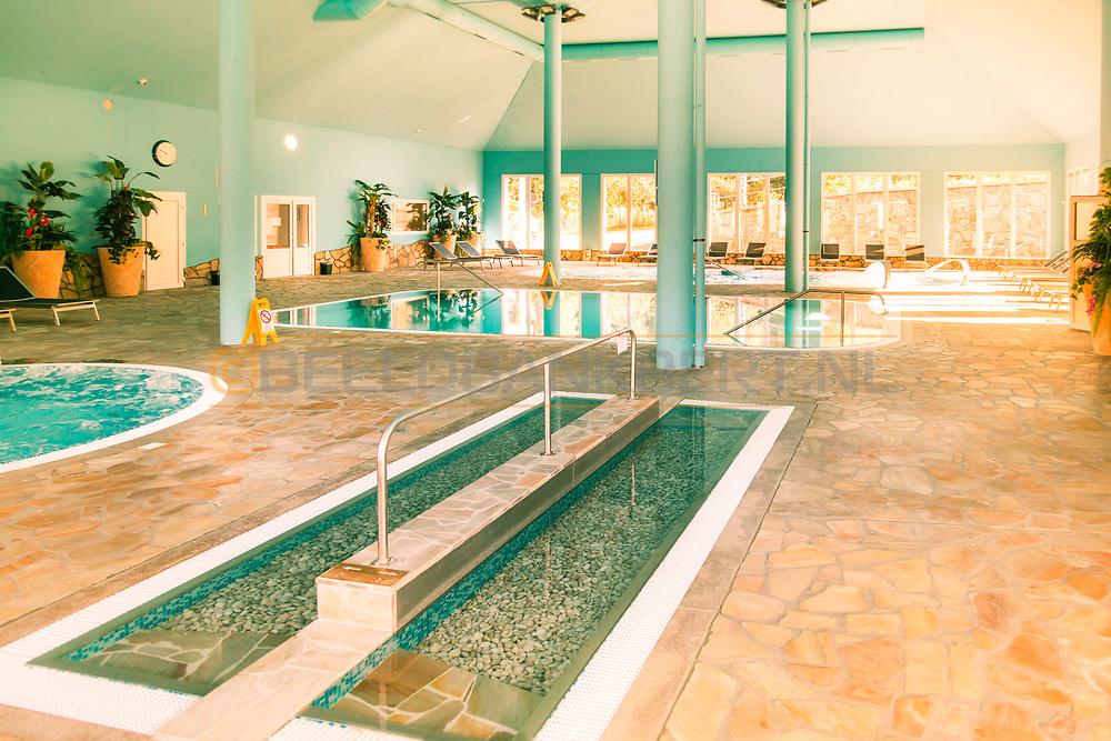 19-09-2015: Golf & Spa Resort Konopiste in Benesov, Tsjechië.<br /> Foto: Het Spa & Wellness centrum