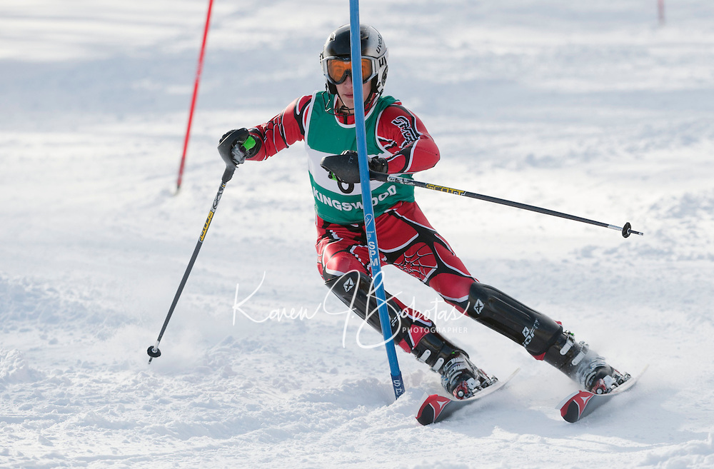Lakes Region Alpine Championships at Gunstock  January 27, 2011.