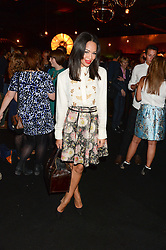 SARAH-JANE CRAWFORD at the Vogue Pop Up Club at Westfield London to celebrate Westfield London's 5th birthday on 30th October 2013.