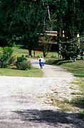 Rural life around the village of Spalding, Clarendon, Jamaica, West Indies in 1990 Holmwood Technical school