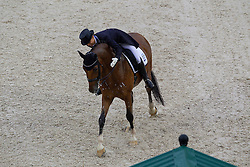 Eevamaria Porthan Broddell, (FIN), Solos Lacan - Grand Prix Team Competition Dressage - Alltech FEI World Equestrian Games™ 2014 - Normandy, France.<br /> © Hippo Foto Team - Leanjo de Koster<br /> 25/06/14
