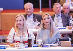 04.03.2017, AUT, FPÖ, 32. Ordentlicher Bundesparteitag, im Bild Christine Strache (rechts) //  at the 32nd Ordinary Party Convention of the Freiheitliche Partei Oesterreich (FPÖ) in Klagenfurt, Austria on 2017/03/04. EXPA Pictures © 2017, PhotoCredit: EXPA/ Wolgang Jannach
