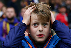 Fan of Maribor sad during football match between NK Maribor and NK Velenje Rudar in 34th Round of Prva liga Telekom Slovenije 2015/16, on May 11, 2016, in Ljudski vrt, Maribor, Slovenia. Photo by Matic Klansek Velej / Sportida