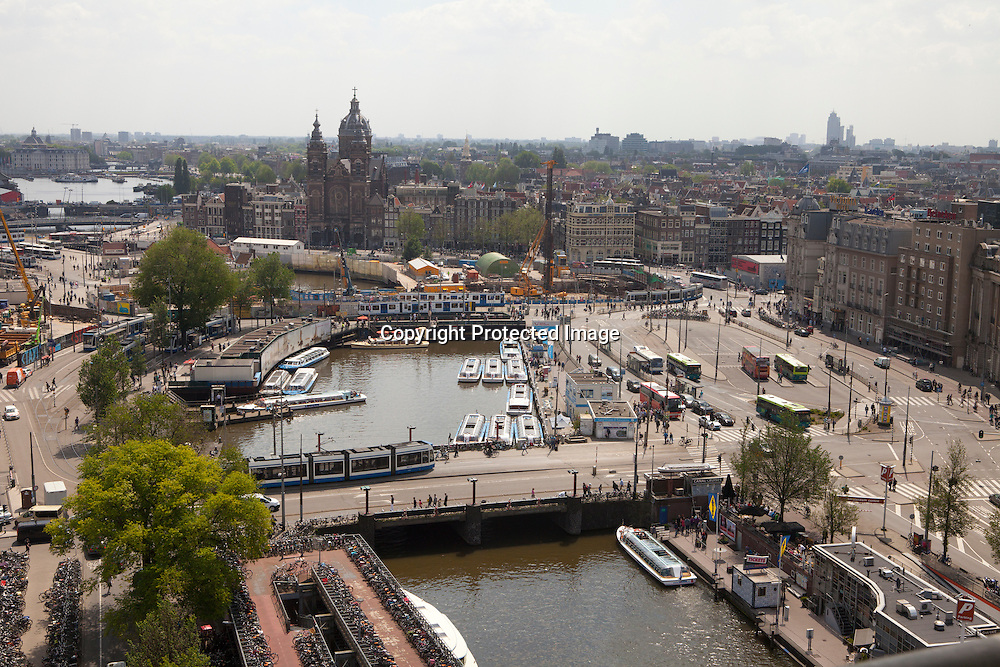Downtown Amsterdam, the netherlands