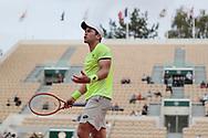 Dominik Koepfer (ALL) disappointed during the Roland Garros 2020, Grand Slam tennis tournament, on September 30, 2020 at Roland Garros stadium in Paris, France - Photo Stephane Allaman / ProSportsImages / DPPI