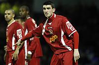 Coca-Cola League One - Southend United vs. Crewe Alexandra<br /> Crewe Alexandra defender Billy Jones.<br /> 17/02/2009<br /> Credit: Colorsport / Kieran Galvin
