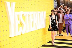 Ellise Chappell attending the Yesterday UK Premiere held in London, UK.