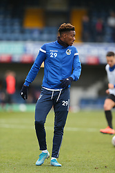 Timmy Abraham of Bristol Rovers during the warm up - Mandatory by-line: Arron Gent/JMP - 07/03/2020 - FOOTBALL - Roots Hall - Southend-on-Sea, England - Southend United v Bristol Rovers - Sky Bet League One