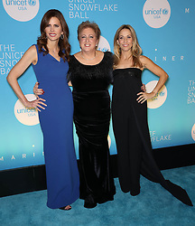 Desiree Gruber, Caryl M. Stern and Sheryl Crow at the UNICEF USA's 14th Annual Snowflake Ball in New York City.