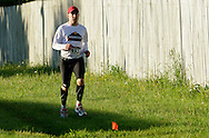 Augusta, New Jersey - Runners compete in 48- and 72-hour races during the 3 Days at the Fair races at Sussex County Fairgrounds on May 11, 2012.