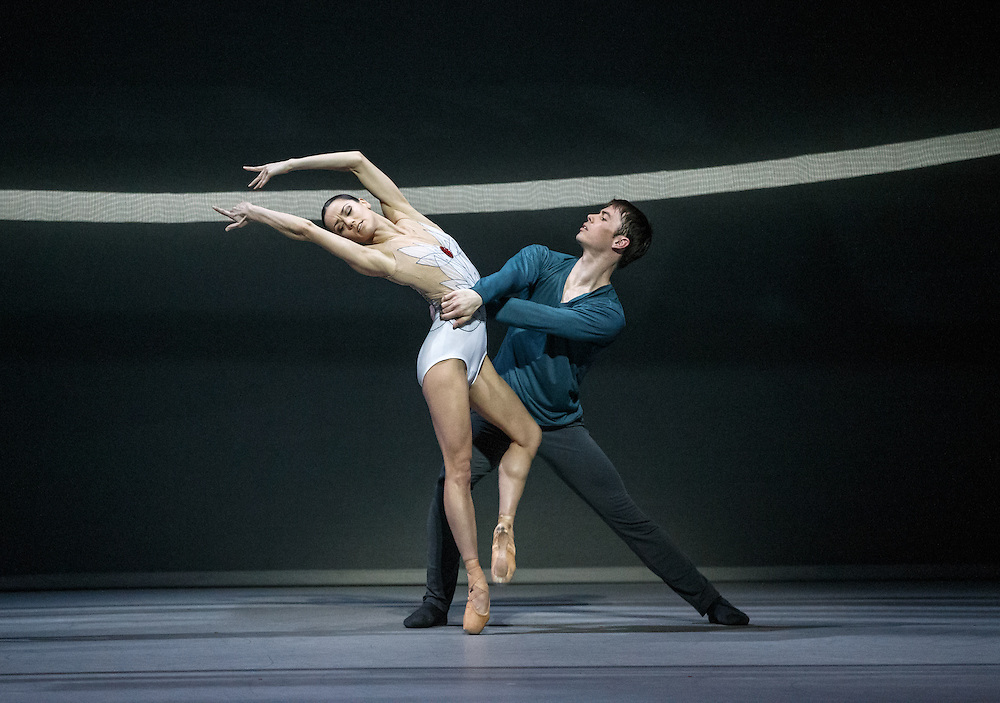 +Embargoed until 7.30pm Tues 19th April '16 + The world premiere of Scottish Ballet's new Swan Lake by David Dawson at The Theatre +Embargoed until 7.30pm Tues 19th April '16 + Royal, Glasgow. Principle dancers Odette: Sophie Martin and Siegfried: Christopher Harrison. Picture Robert Perry 18th April 2016<br /> <br /> Must credit photo to Robert Perry<br /> FEE PAYABLE FOR REPRO USE<br /> FEE PAYABLE FOR ALL INTERNET USE<br /> www.robertperry.co.uk<br /> NB -This image is not to be distributed without the prior consent of the copyright holder.<br /> in using this image you agree to abide by terms and conditions as stated in this caption.<br /> All monies payable to Robert Perry<br /> <br /> (PLEASE DO NOT REMOVE THIS CAPTION)<br /> This image is intended for Editorial use (e.g. news). Any commercial or promotional use requires additional clearance. <br /> Copyright 2014 All rights protected.<br /> first use only<br /> contact details<br /> Robert Perry     <br /> 07702 631 477<br /> robertperryphotos@gmail.com<br /> no internet usage without prior consent.         <br /> Robert Perry reserves the right to pursue unauthorised use of this image . If you violate my intellectual property you may be liable for  damages, loss of income, and profits you derive from the use of this image.
