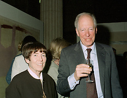 LORD & LADY ROTHSCHILD at a reception in London on 13th May 1997.LYH 66