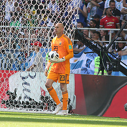 June 16, 2018 - Moscow, Russia - Russian Federation. Moscow. Arena Spartacus. FIFA World Cup 2018. Argentina - Iceland. Team player of Argentina Willie Caballero. (Credit Image: © Russian Look via ZUMA Wire)