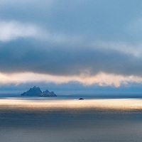Mystical Skellig Sunset Panorama, County Kerry, Ireland ****** <br /> <br /> <br /> Hi Tommy's Outdoor listeners. Nice to see you here. I hope you enjoyed our interview <3<br /> <br /> Visit & browse through my Photography & Art Gallery, located on the Wild Atlantic Way & Skellig Ring between Waterville and Ballinskelligs (Skellig Coast R567), only 3 minutes from the main Ring of Kerry road.<br /> https://goo.gl/maps/syg6bd3KQtw<br /> <br /> ******<br /> <br /> Contact: 085 7803273 from an Irish mobile phone or +353 85 7803273 from an international mobile phone