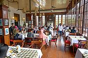 Jakarta, officially the Special Capital Region of Jakarta (Indonesian: Daerah Khusus Ibukota Jakarta), is the capital and largest city of Indonesia<br /> <br /> On the Photo: Cafe Batavia