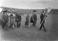 H2490<br /> Opening of Tailteann Games. Picture of various teams parading. 1932 (Part of the Independent Newspapers Ireland/NLI Collection)
