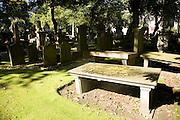 Graves in churchyard, Saint Nicholas Kirk, Aberdeen, Scotland