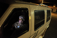 U.S. Army and Vietnam War veteran Valente Valenzuela sits inside his car before going to sleep in Presidio, Texas, Friday, Sep. 27, 2019. Valenzuela and his younger brother Manuel Valenzuela, both Vietnam War veterans, have been fighting deportation since 2009.