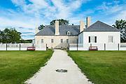 Upper Fort Garry former Hudson's Bay Company trading post, Manitoba, Canada
